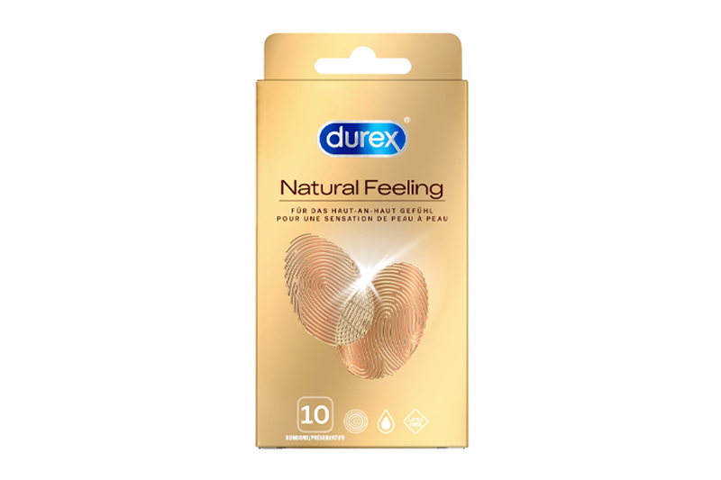 Profilattici Senza Lattice Durex Natural Feeling 10pz