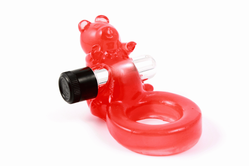 Anello Vibrante Jelly Bear