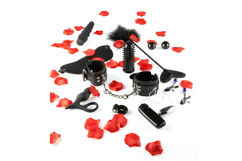 BDSM Amazing Pleasure Kit 10 pezzi
