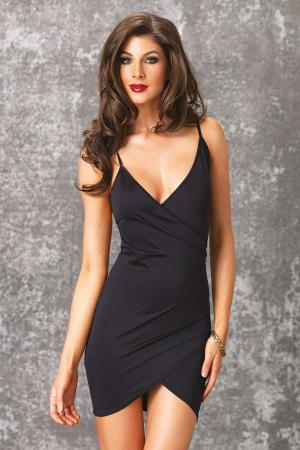 MINI DRESS MARIA BLACK S