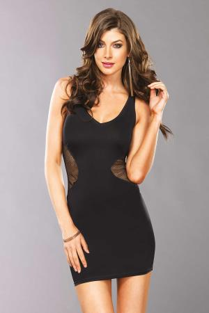 MINI DRESS LAURA BLACK L