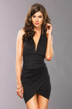 MINI DRESS MONICA BLACK S