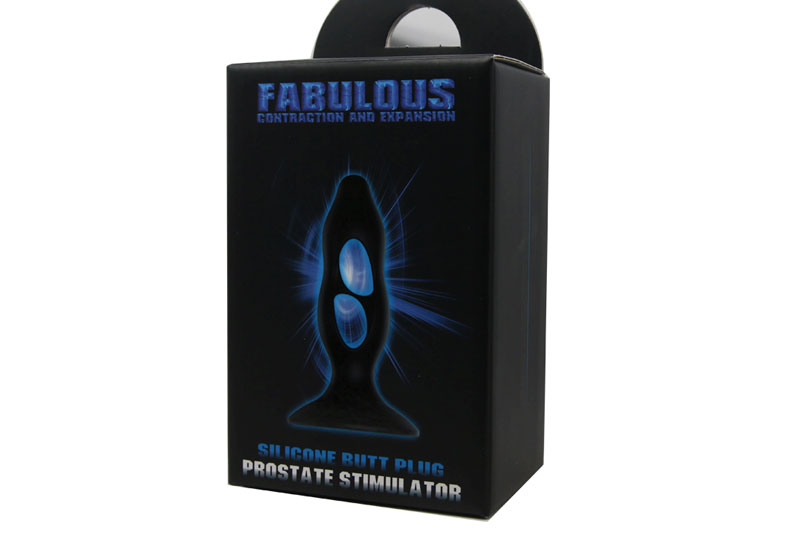 Plug Anale Fabulous Expansion 10,5cm Nero