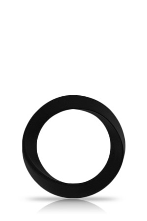 Anello Fallico Infinity Medium Nero