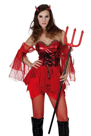 Costume Sexy da Devil Lady