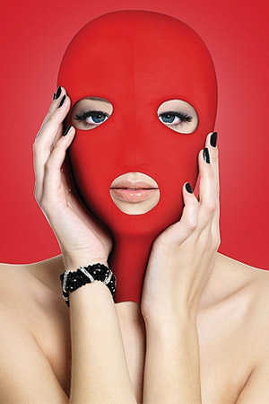 BDSM Maschera Subversion Rossa