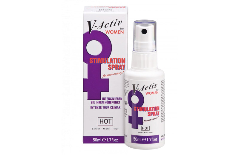 Stimolante Sessuale Donna V ACTIV Spray 50ml