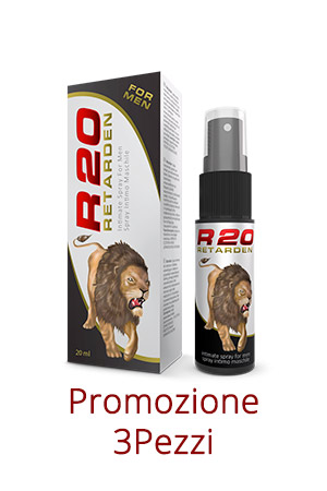 Spray Ritardante Retarden 20ml 3 Pezzi