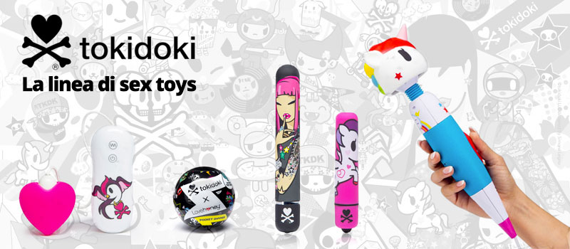Tokidoki Sex Toys Design