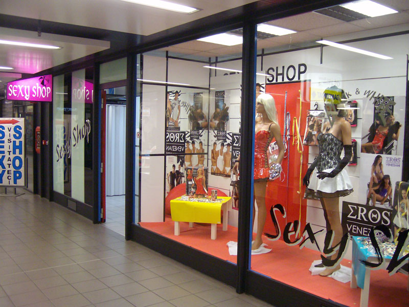 Sexy shop e night club in veneto